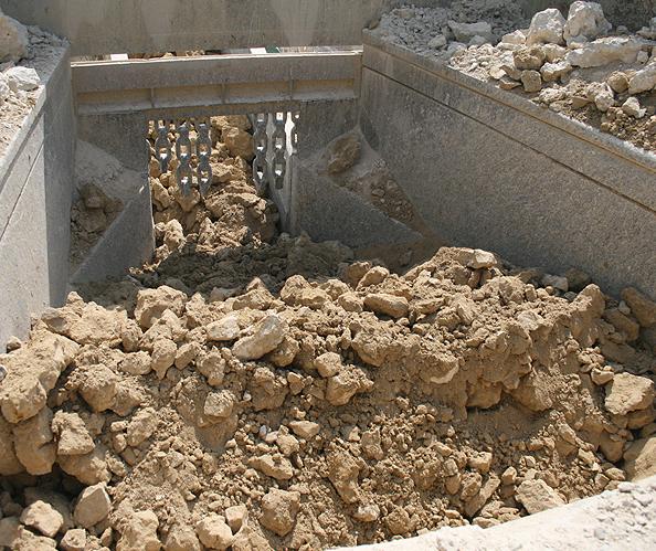 Concasseur de carrieres, graves et sables
