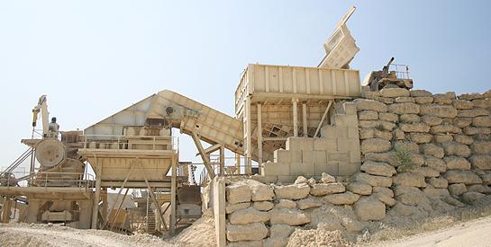 Transport de carrieres granulats et sables